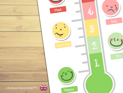 the feelings thermometer printable worksheet printable game