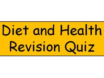 Diet and Health Quiz