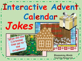 year 1 interactive christmas advent calendar bundle by. Black Bedroom Furniture Sets. Home Design Ideas