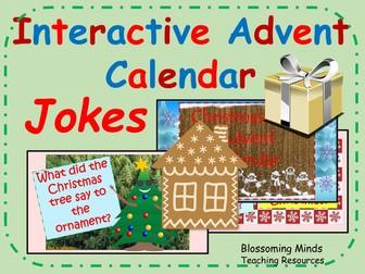 Interactive Advent Calendar - Christmas Jokes
