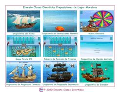Place-Prepositions-Spanish-Treasure-Hunt-Interactive-PowerPoint-Game.pptx