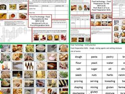 Gcse Food Technology Skills List