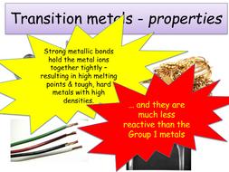 Ks4 periodic table transition metals teacher powerpoint ks4 periodic table transition metals teacher powerpoint student worksheet urtaz Choice Image