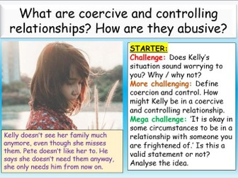 Healthy vs Controlling Relationships