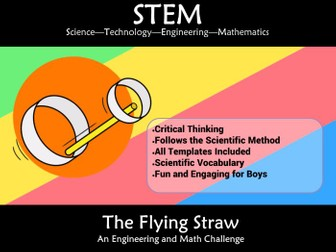 STEM Flight Flying Straw: A Science and Engineering Challenge
