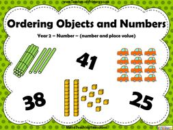 Ordering Objects and Numbers - Year 2