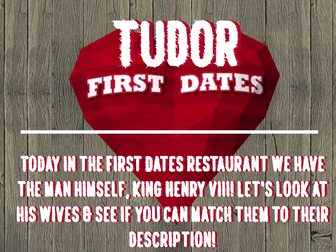 Tudors - Henry VIII First Dates