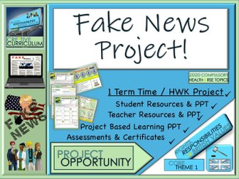 Fake News - Newspaper Project