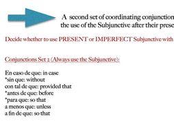 Conjunctions Worksheet (Spanish)