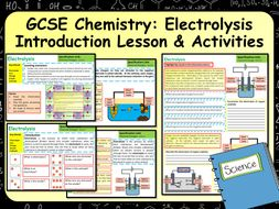 KS4 AQA GCSE Chemistry (Science) Electrolysis Lesson