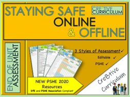 Online and Offline Safety PSHE Assessment