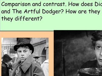 Oliver Twist and The Artful Dodger Extract Comparison