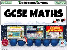 Christmas maths GCSE