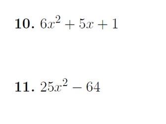 Factorising quadratics worksheet no 3 (with solutions)