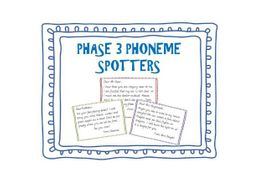 Phase 3 Phoneme Spotters
