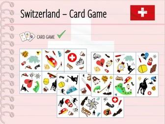 Switzerland - Card Game