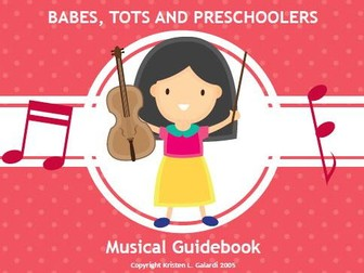 Preschool Music Lesson Plans