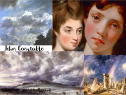 John Constable ~ English ~ Land Sea Clouds Portrait Art ~ Romance Era