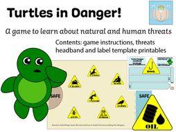 Turtles In Danger Game