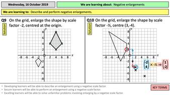 8.4.3h-Negative-enlargements-vectors---clicker---TES.pptx