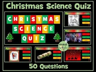 Science Christmas Quiz