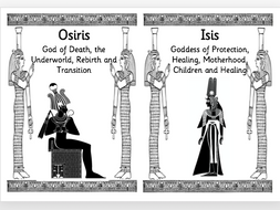 Ancient egyptian gods and goddesses by tmh23 teaching resources tes ancient egyptian gods and goddesses publicscrutiny Image collections