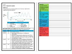 Btec Sport - Level 3 - Unit 1 - Structure Script - Tidal Volume During  Exercise (RespiratorySystem)