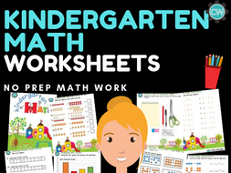 Preschool / Kindergarten Math Worksheets