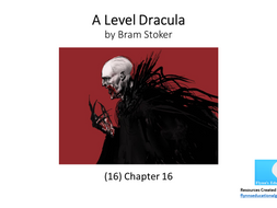 A Level: Dracula (16) Chapter 16