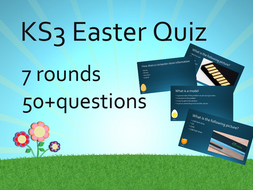 Easter End of term KS3 Computing Revision Quiz 2017