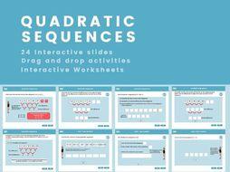 Quadratic Sequence - GCSE (1-9), (US 9th grade - 10th grade)