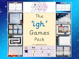 The 'igh' Phonics Games Pack (Phase 3)