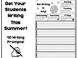 Primary Summer Writing Collection