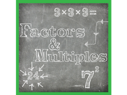 Free Finding Factors and Multiples Worksheets