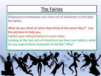 A Midsummer Night's Dream - The Fairies