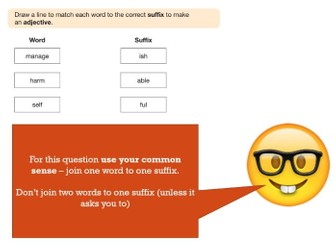 PowerPoint to introduce the 2017 KS2 SATs Spelling, Punctuation and Grammar Test (with Emojis!)