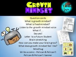 Growth Mindset  & Banner - UK