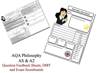 AQA Philosophy (NEW SPECIFICATION, 2017) Bundle by
