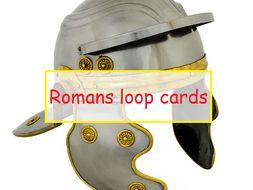 Roman Empire loop cards - active learning Y3 Y4