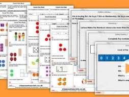 Year 1 Count One More Autumn Block 1 Step 6 Maths Lesson Pack