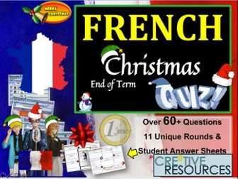 French MFL Christmas Quiz