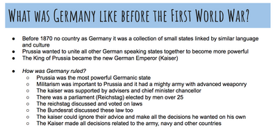 AQA GCSE History Germany powerpoint