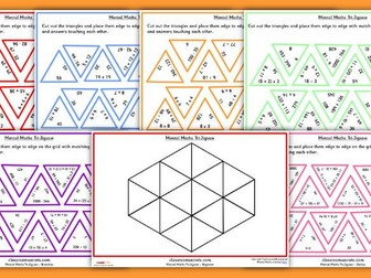 Mixed Mental Maths Tarsia Game