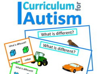 What is Different? Classifying Skills Autism, Special Education Speech Therapy