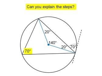 Circle theorems lesson 6