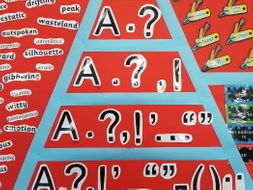 Punctuation Pyramid