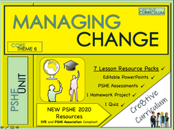 Managing Change PSHE + Careers Unit