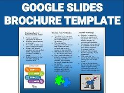 brochure template editable on google slides by rombop teaching