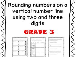 Grade 3 - Rounding using two and three digits - Eureka Math and CCSS aligned