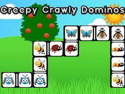 Creepy Crawly Dominos